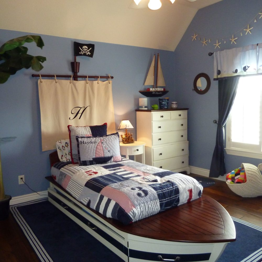 How To Design a Nautical or Pirate Themed Bedroom For Your Kids